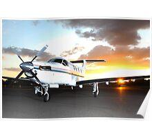 Pilatus PC 12/45 Poster