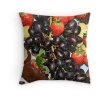 Fruitilicious!!! Throw Pillow