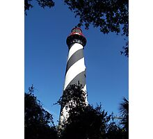 St Augustine Lighthouse Photographic Print