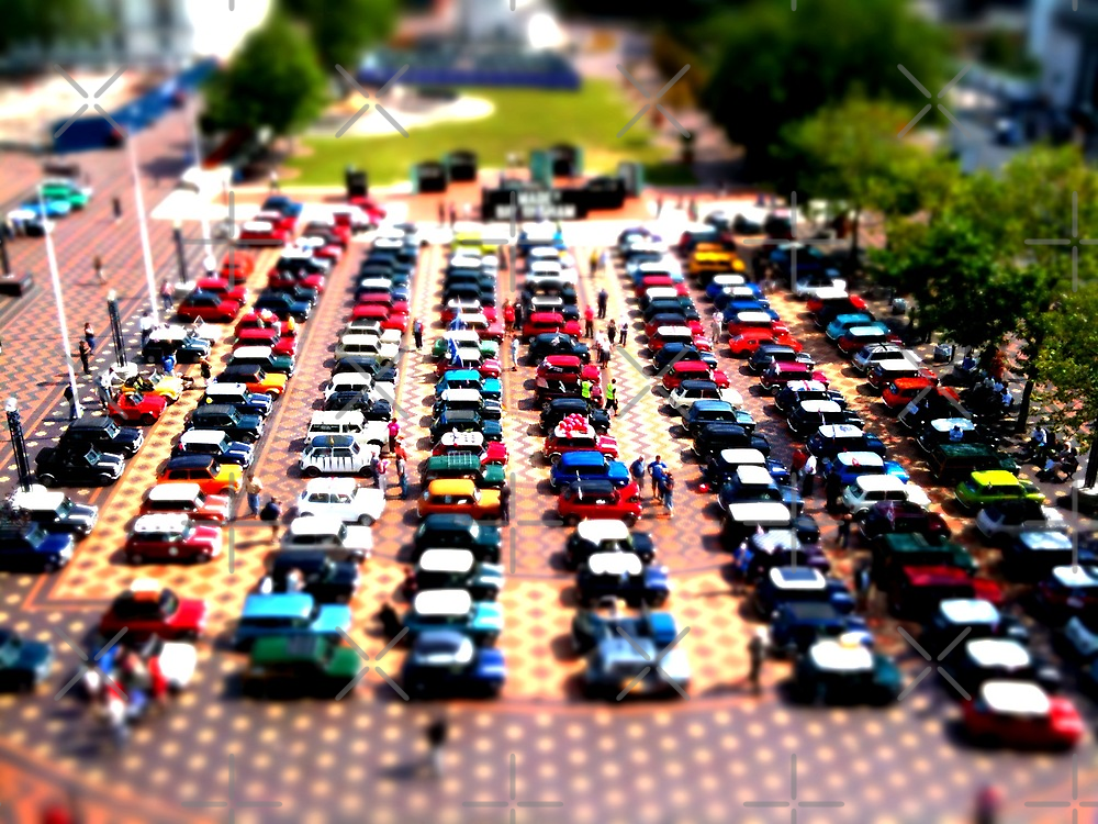 Toy Mini Cars on the Square by NuclearJawa