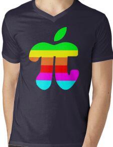 Apple Pi Mens V-Neck T-Shirt