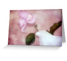 The Spent Rose Greeting Card