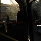 The Reader on a Bus by Kazi Omar