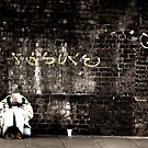 The Loner - London by Kazi Omar
