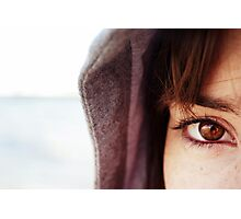 Girl by the Sea Photographic Print