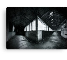 Some Place Nowhere Canvas Print