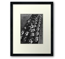 Doll Parts Framed Print