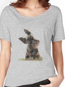 Scottie Dog Women's Relaxed Fit T-Shirt