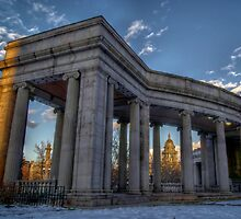 Through The Pillars by Vinnie  White