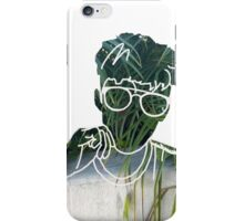 troye sivan outline plant iPhone Case/Skin