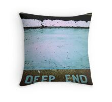 Off the Deep End Throw Pillow