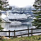 Cameron Lake in Waterton NP by Vickie Emms