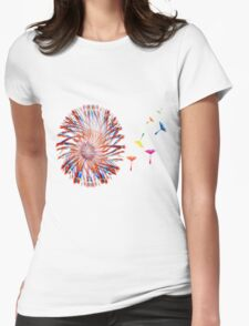 Dandelion Seed Blowing in The Wind T Shirt T-Shirt