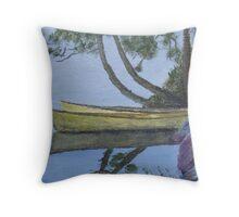 Canoes - Algonquin Park, Ontario, Canada Throw Pillow