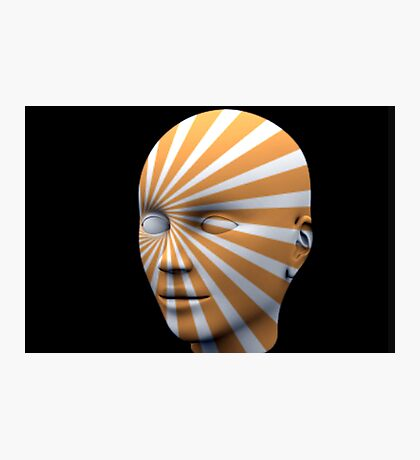 Android Sun Face Photographic Print