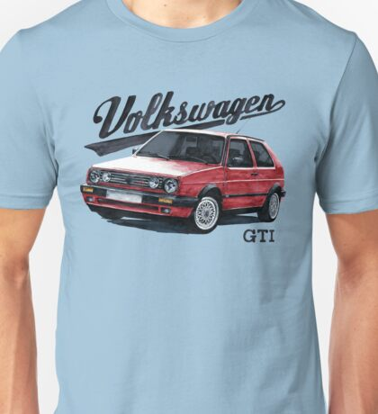 volkswagen golf mk.2 Unisex T-Shirt