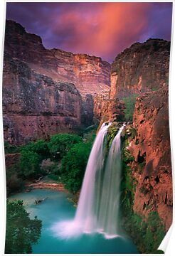 Havasu Falls by Inge Johnsson