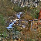 Sylvan Falls and Grist Mill, Rabun Gap, Georgia by Chelei
