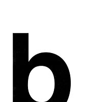 Helvetica Lowercase - b by edgargarcia