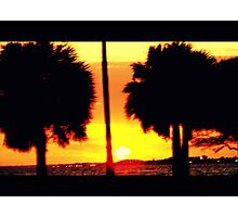 Sunset in Motion Photographic Print