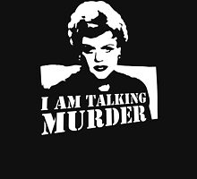 Murder She Wrote Deadly Lady stencil Unisex T-Shirt