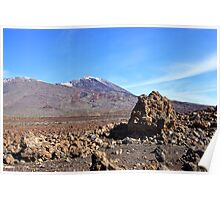 El Teide Volcano, Tenerife Poster