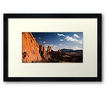 Garden of the Gods - Colorado Springs, Colorado, USA Framed Print