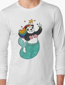Panda of awesomeness Long Sleeve T-Shirt