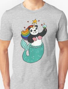 Panda of awesomeness Unisex T-Shirt