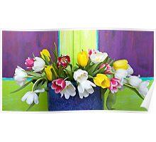 Vibrant Bouquet Poster