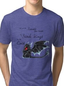 Black Wings Tri-blend T-Shirt