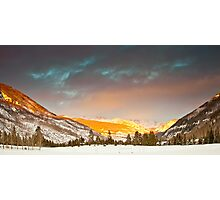 Gore Range, near Vail, Colorado Photographic Print