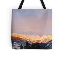 Gore Range, near Vail, Colorado Tote Bag