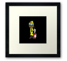 Professional painter Framed Print