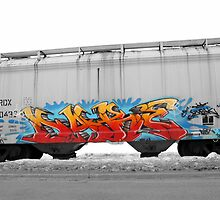 Train Art by Steve Small