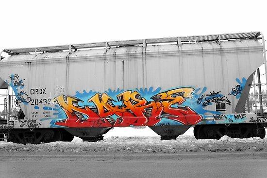 Train Art by Steve Small