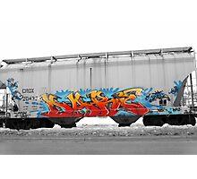 Train Art Photographic Print