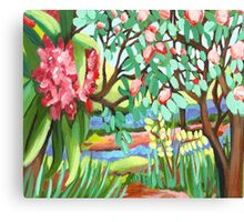 Everglades Gardens Canvas Print