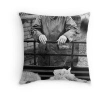 Tennant Farmer, Bala, North Wales Throw Pillow