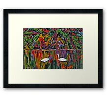 Aproching One Another Framed Print
