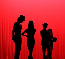 Dancers Waiting on Stage by Denice Breaux