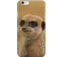 TitleGrubby Nosed Meercat iPhone Case/Skin