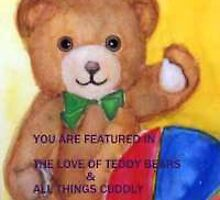 TEDDY FEATURE BANNER by Heidi Mooney-Hill