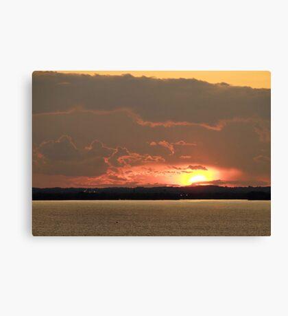 Lake Winnebago Sunset Canvas Print
