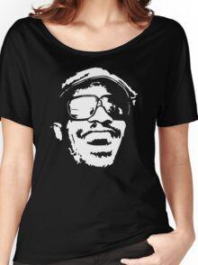 Stevie Wonder new stencil Women's Relaxed Fit T-Shirt