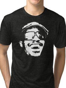 Stevie Wonder new stencil Tri-blend T-Shirt