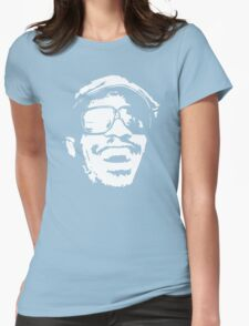 Stevie Wonder new stencil Womens Fitted T-Shirt