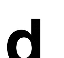 Helvetica Lowercase - d by edgargarcia