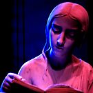 The Lady Reading at Night by wannabewriter81