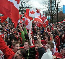 Canada during Olympics by Aziz Dhamani